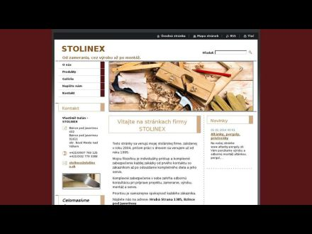 www.stolinex.sk