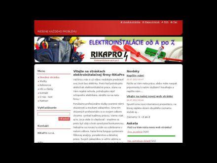 www.rikapro.sk