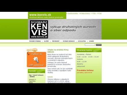 www.kenvis.sk