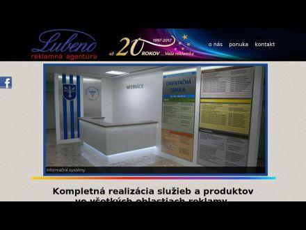 www.lubeno.sk