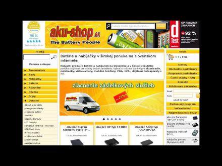 www.aku-shop.sk
