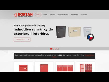 www.kortan.cz