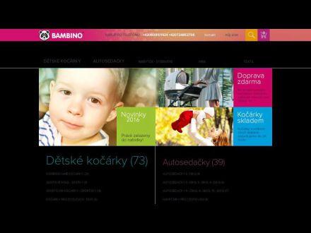 www.bambino-kocarky.cz
