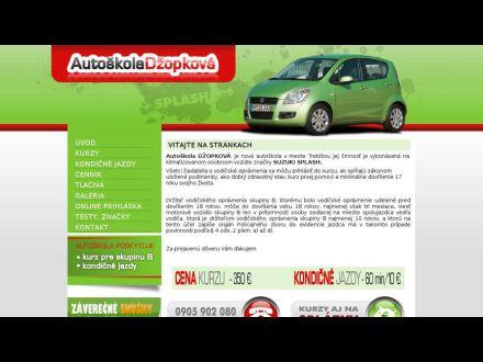 www.autoskoladzopkova.sk
