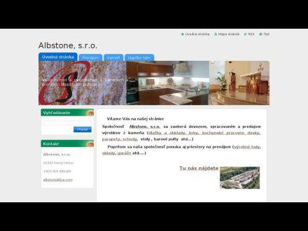 www.albstone.webnode.sk