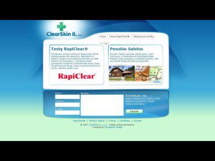 www.clearskin2.sk
