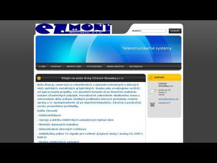 www.ezmont.sk