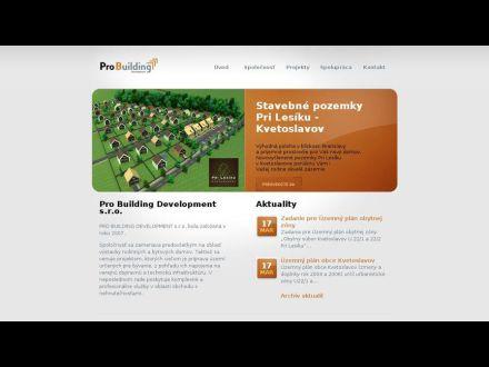 www.probuilding.sk
