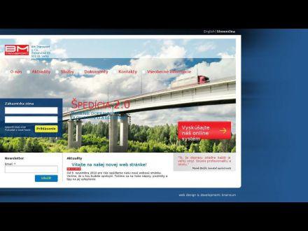 www.bmtransport.sk