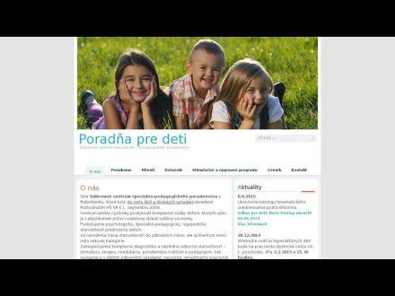 www.poradnapredeti.sk