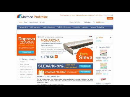 www.matrace-profirelax.cz