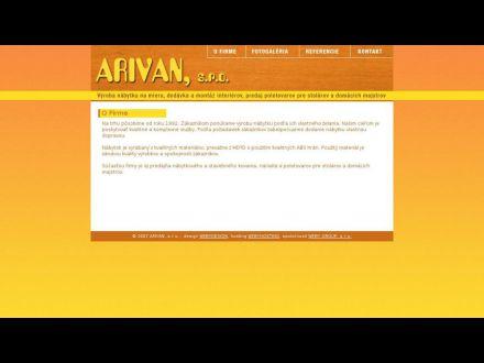 www.arivan.sk