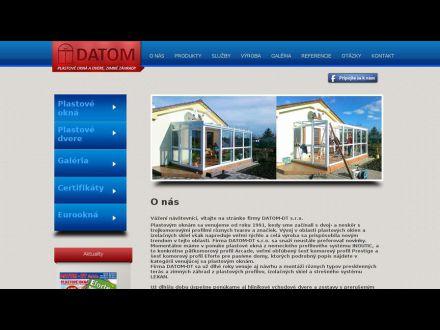 www.datom.sk