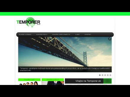 www.temporer.sk