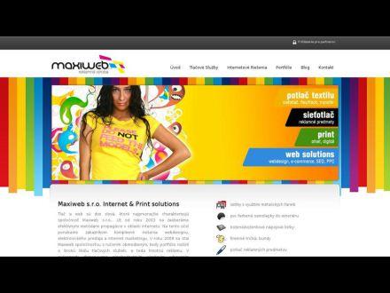 www.maxiweb.sk