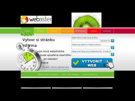 www.webaster.sk
