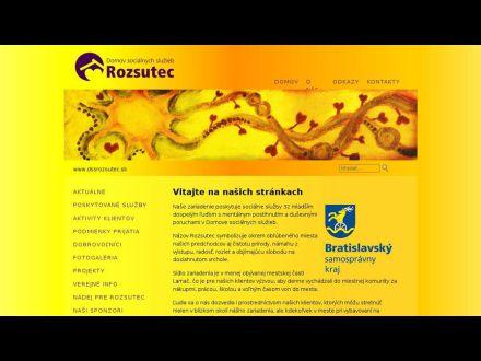 www.dssrozsutec.sk