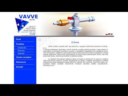 www.vavve.sk