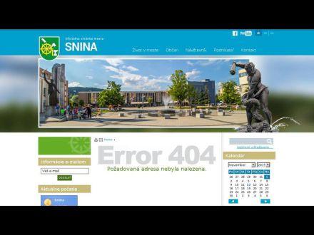 www.snina.sk/obcan/samosprava/mestska-policia