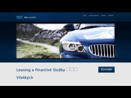 www.rexleasing.sk