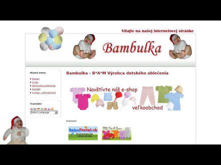 www.bambulka.com
