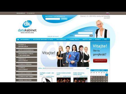 www.datakabinet.sk