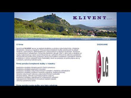 www.klivent.sk