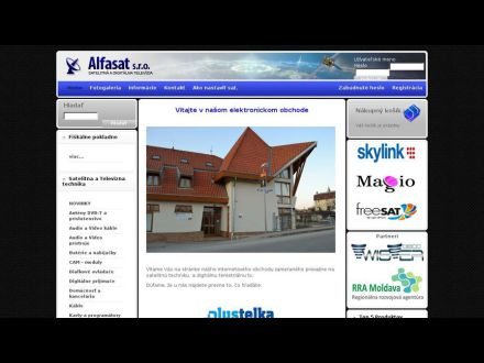 www.alfasat.sk