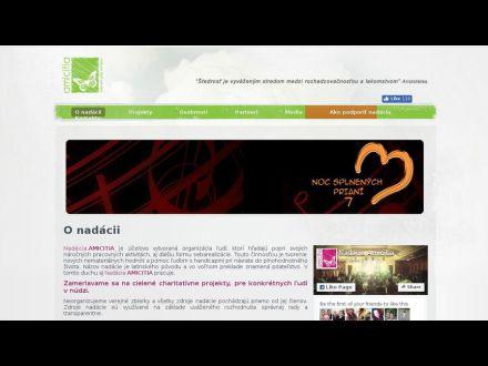 www.amicitia.sk