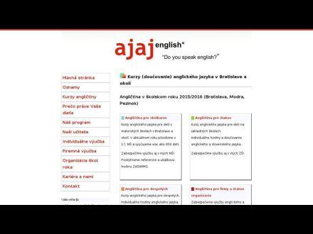 www.ajaj.sk