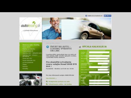 www.autoleasing.sk