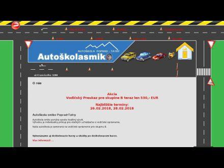 www.autoskolasmiko.sk