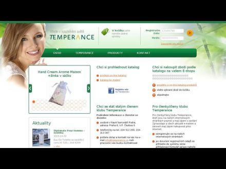 www.temperance.cz