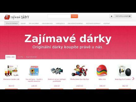 www.zajimavedarky.cz