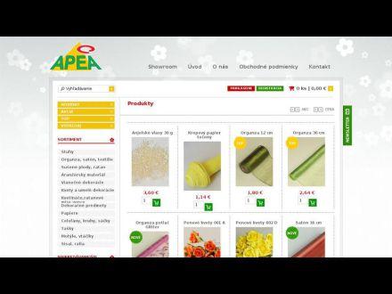 www.apeadekor.sk