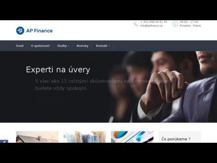 www.apfinance.sk