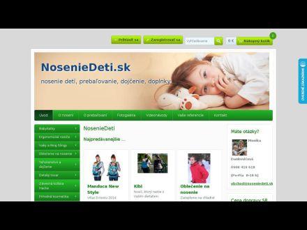 www.noseniedeti.sk