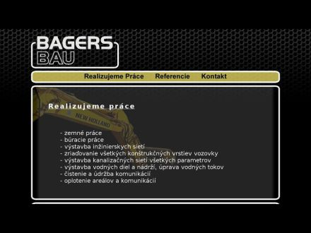 www.bagersbau.sk