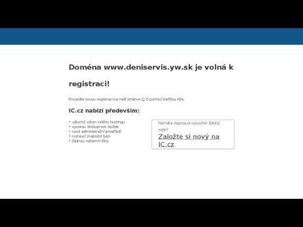 www.deniservis.yw.sk