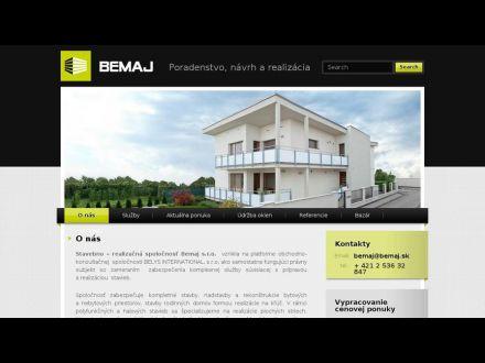 www.bemaj.sk