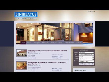 www.binibeatus.sk