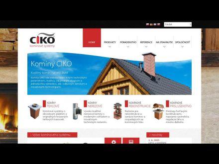 www.ciko-kominy.sk
