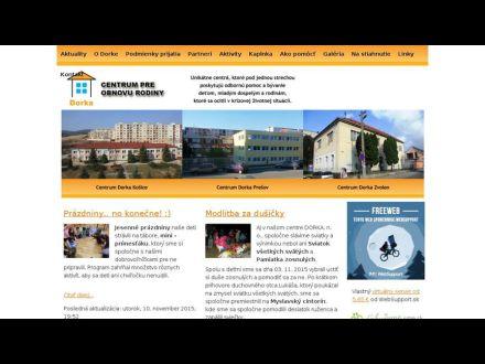www.centrumdorka.sk