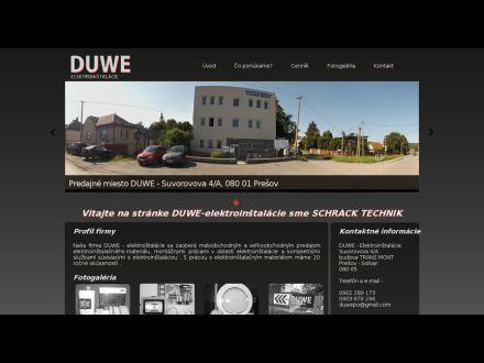 www.duwe-elektroinstalacie.eu