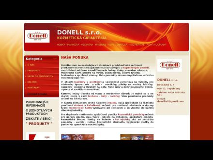 www.donell.sk