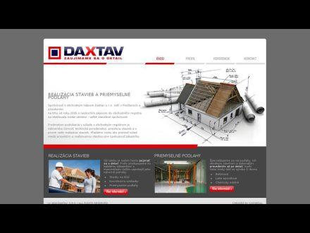 www.daxtav.sk