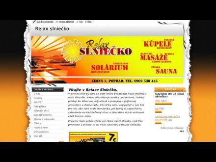 www.relaxslniecko.sk