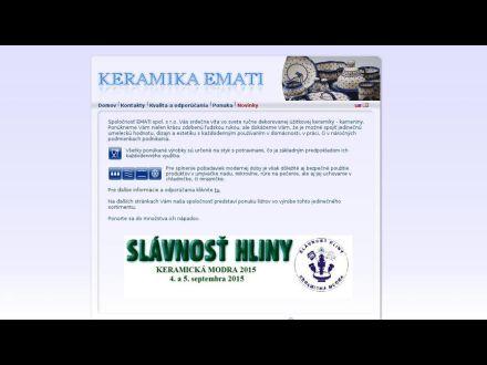 www.keramika-emati.sk