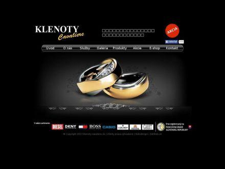 www.klenoty-cavaliere.sk