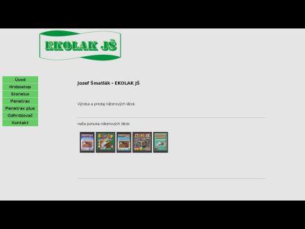 www.ekolakjs.sk